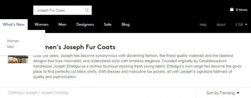 joseph fur coat