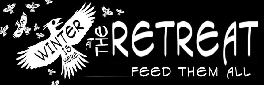 RETREAT BANNER MANY BIRDS